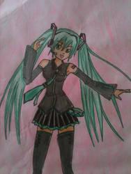 Miku Hatsune by blackbutlergirlmcr