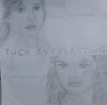 Winnie From Tuck Everlasting Drawing