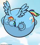 Mane 6 inflation - Rainbow Dash