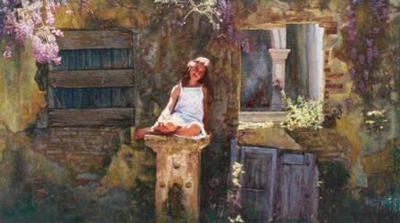 1,   70 X140 Cm Oil On Canvas by odysseas67