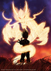 Beware the Dragon Power by kalliasx