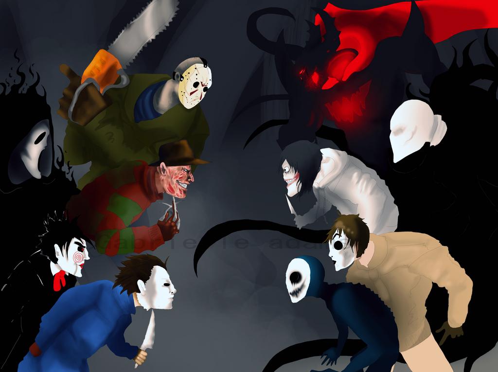 Fright battle by Coffee-For-The-DeadJeff The Killer Vs Freddy Krueger