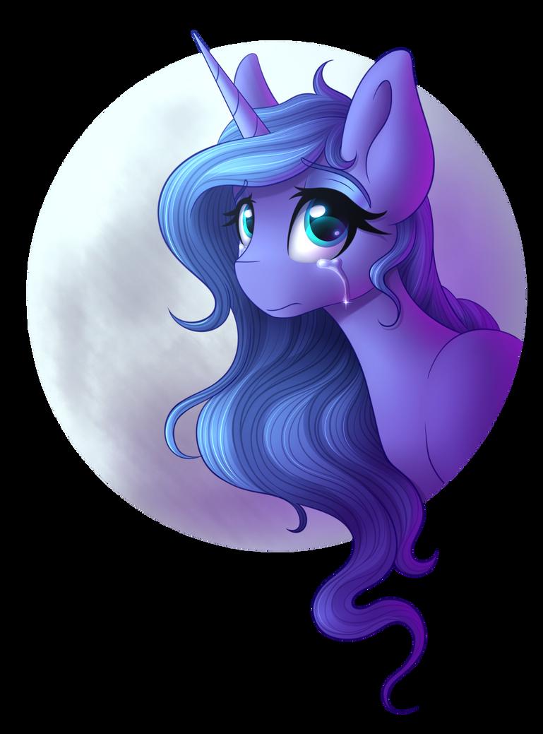 Luna [Collab] by littleSpiritRose