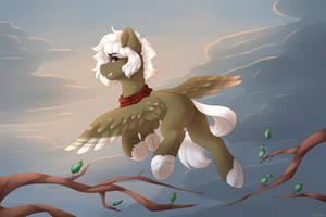 Flight [Art Trade] by Spirit-Dude