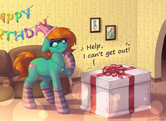 Birthday Surprise [Commission] by Spirit-Dude