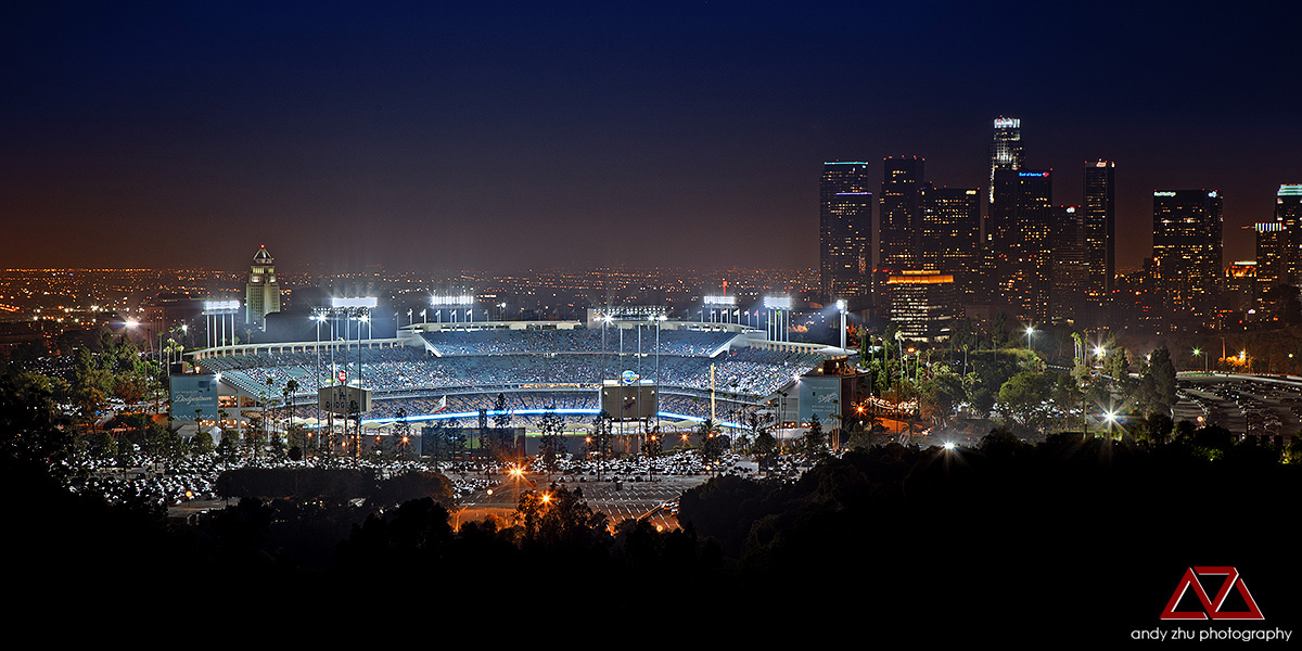 Dodger Stadium by azhu on DeviantArt