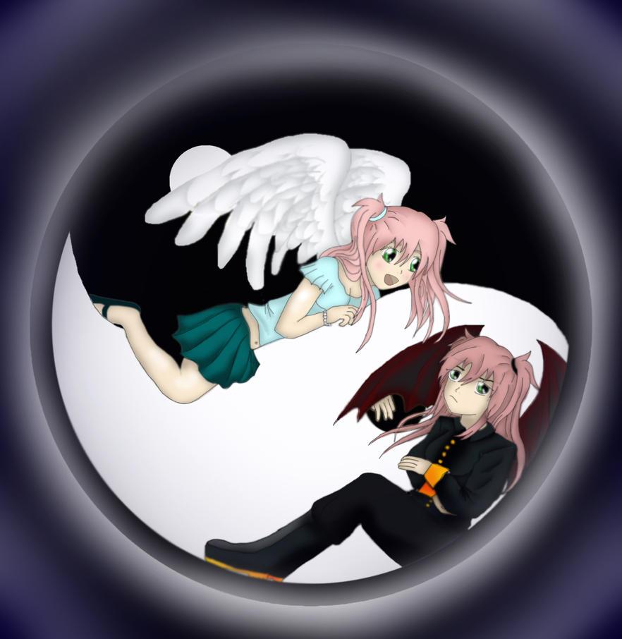 Shizuka and Shizuku - Yin and Yan by Shizuka-Yoru