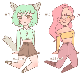Pastel Jeans | Adopts (CLOSED)