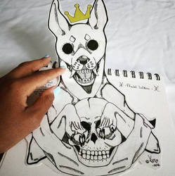 Tattoo Design from 2016 by Kannubis