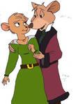Basil and Olivia colored