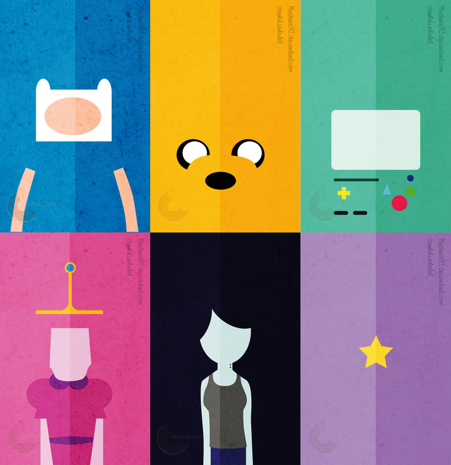Adventure Time Minimalista by Masters92
