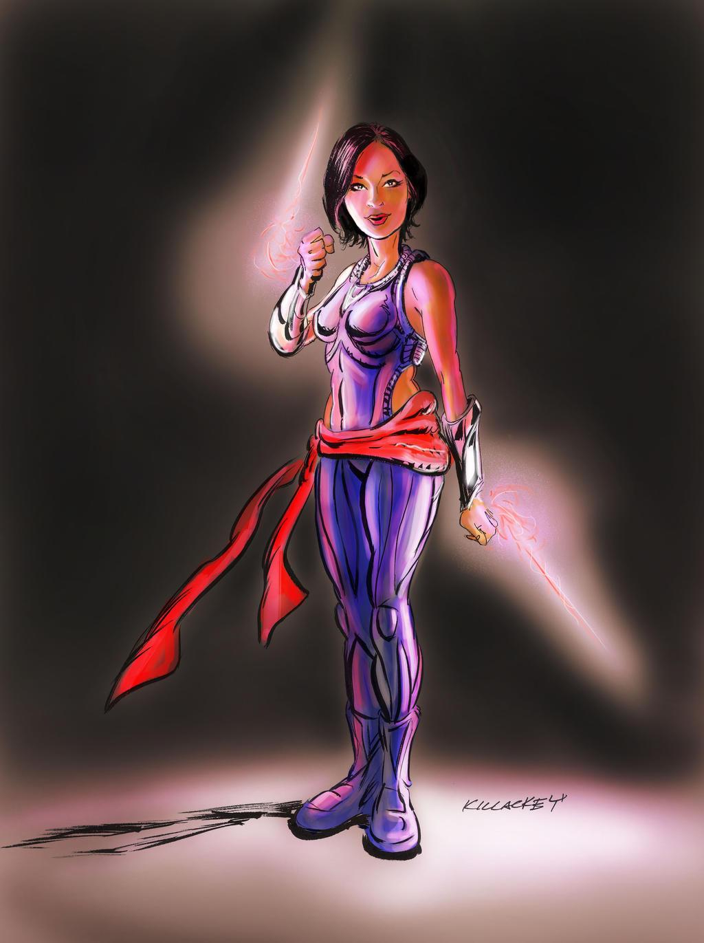 Marvel Psylocke Art Psylocke by danslab on...