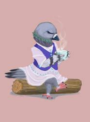 Pulunen / Pigeon by HarmlessDevil