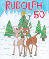 RUDOLPH: 50 ANNIVERSARY by SHREKRULEZ