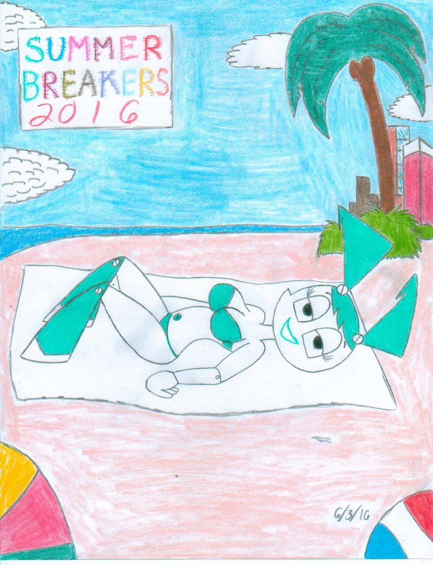 Summer Breakers 2016: Jenny (XJ9) by SHREKRULEZ