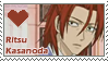 Ritsu Kasanoda Stamp by Spirit-Of-Darkness