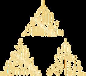 Zelda Triforce Vector by Graphicsmith