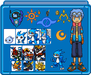 Axel and Veemon Body Profile by SHINXBOY1 on DeviantArt