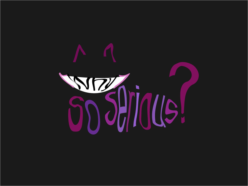 """""""Why So Serious"""" Cat? by ForestDaughter on DeviantArt"""