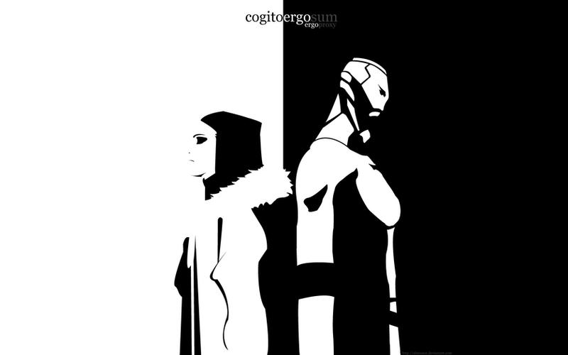 Cogito Ergo Sum by Shmuxor