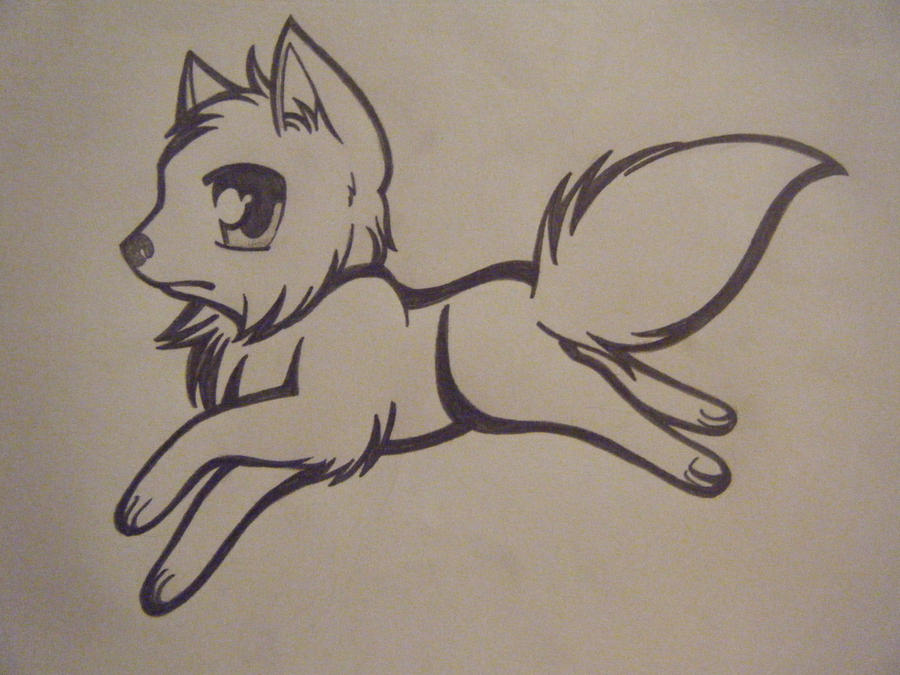 how to draw a awesome wolf