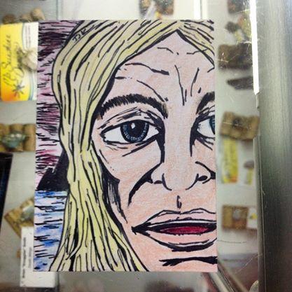 Kamandi aceo art card by TJKernan by TJKernan