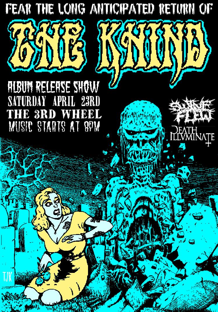 The Khind Gig Poster (Aqua Version) by TJKernan