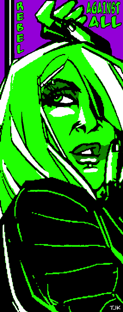 Smear In Green by TJKernan