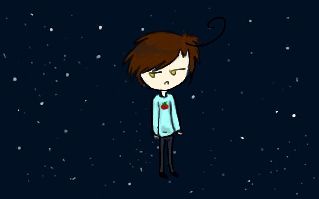 Romano... among the stars o_o by Grayes