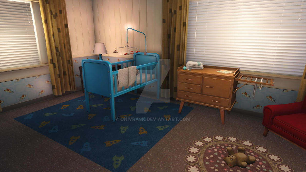 Fallout 4 Pre War Shauns Room By OniVrask On DeviantArt