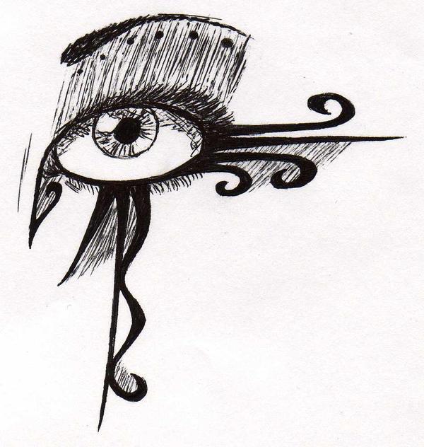 Swirl Make-up Design by ZukosSoul