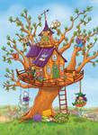 Boe!kids treehouse cover