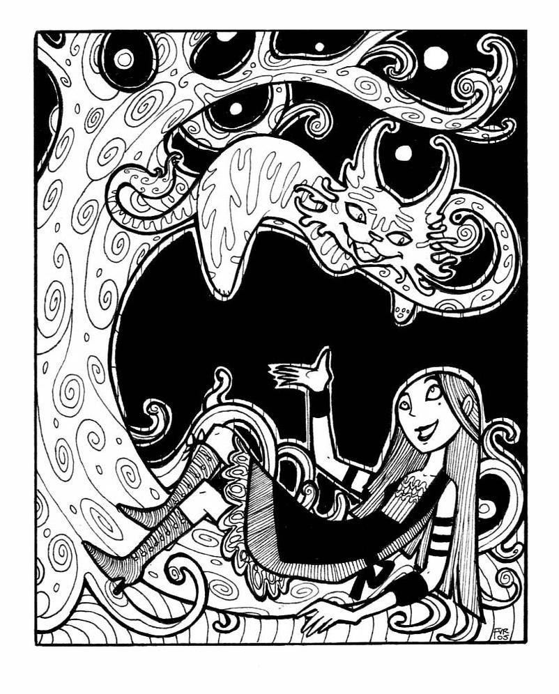 Alice in Wonderland by FriedaVanRaevels