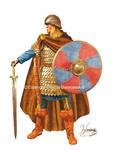 Carolingian Frankish elite Infantry-8th century AD