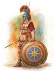 Macedonian Hypaspist infantry (second half o