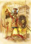 Ajax Oileus in Trojan war (Late Bronze Age)