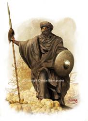 Tribal warrior-North Africa (8th -9th century)