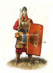 Tatar-Mongolian heavy infantry (12th-13th cent.AD)