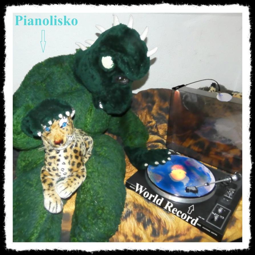 Pianolisko - World Record by DoctorCheetah