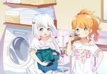 Sagiri and Megumi