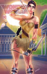 Wonder Woman Diana Color cover