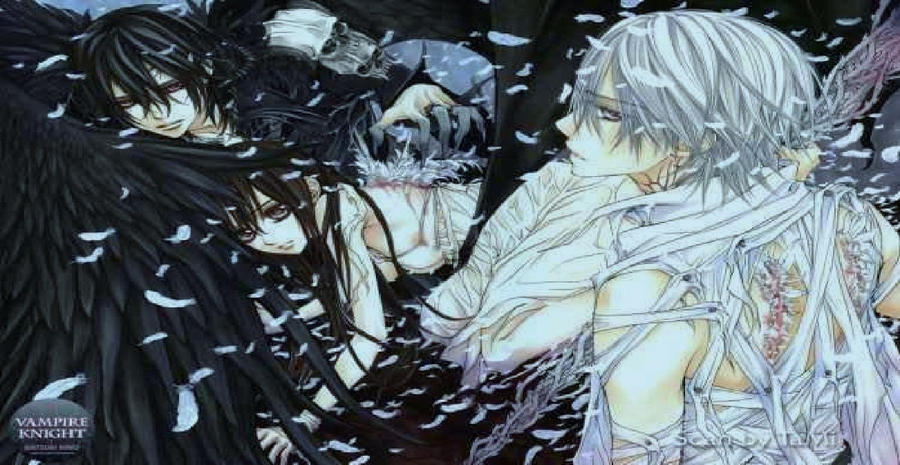 Demon vs Angel by Love-is-poison on DeviantArt