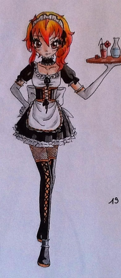 Cute Maid by Vocaloid2743