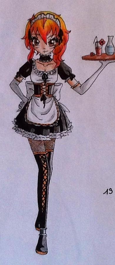 Cute Maid by Vocaloid2743