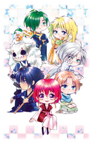 yona babies by Art-on-a-Stick