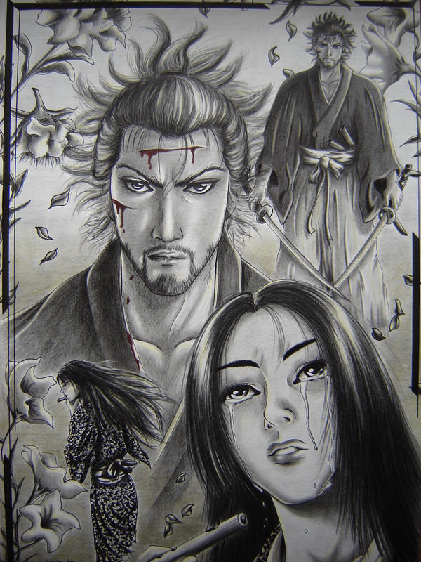 Vagabond Musashi And Otsu By MorgainePendragon
