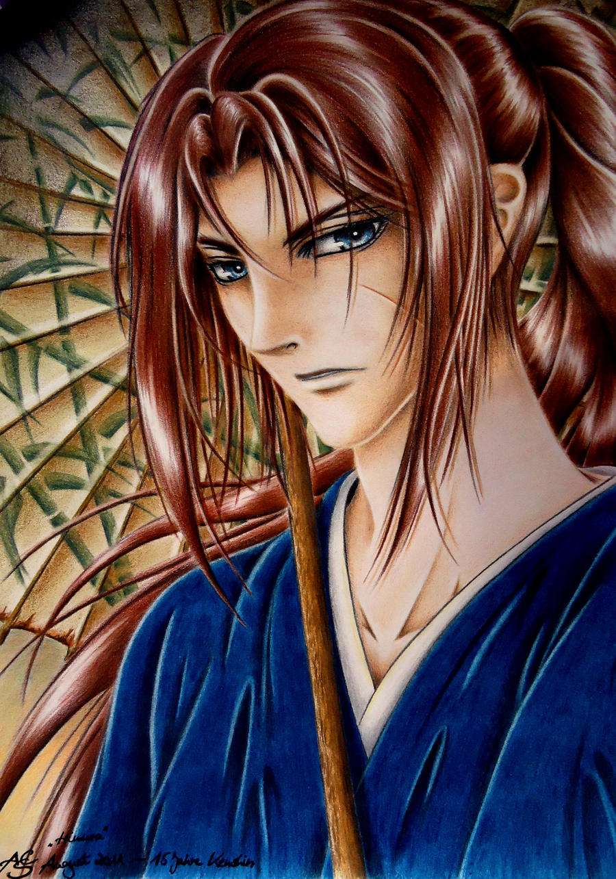 Kenshin - 15th anniversary by MorgainePendragon
