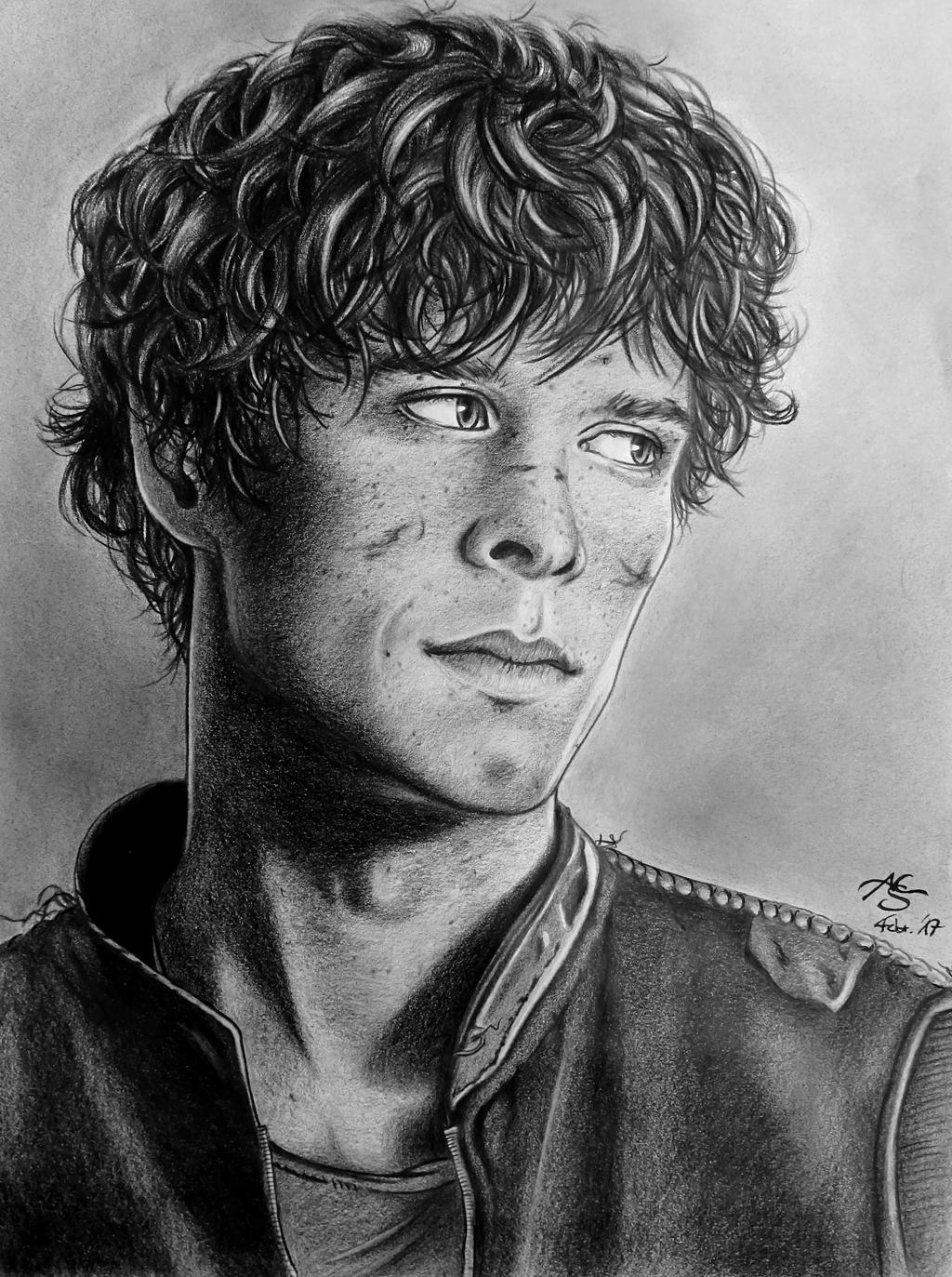 Bellamy Blake by MorgainePendragon