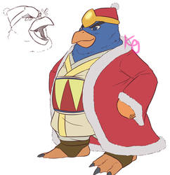 King Dedede by kirby-master2017
