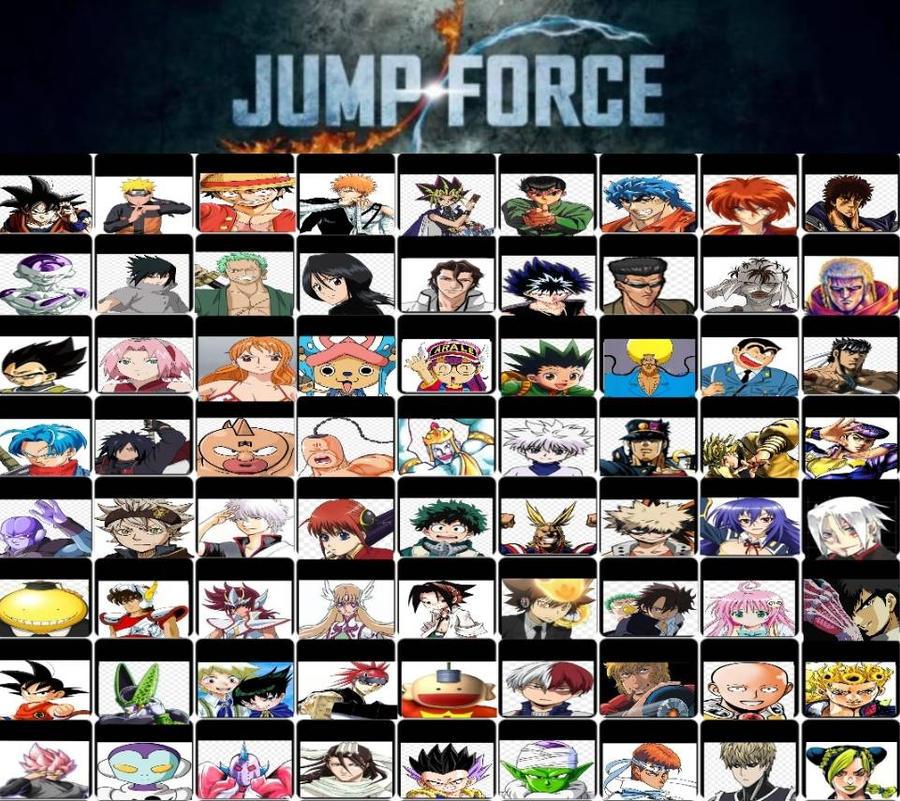 My Jump Force Roster By Saiyanpikachu On DeviantArt